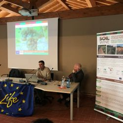 Presentation by Guido Croce (ART-ER) and Prof. Gabriele Canali (Università Cattolica del Sacro Cuore di Piacenza)) on the quantification of ecosystem services